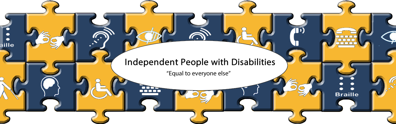 independent people with disabilities equal to everyone else